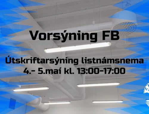 Vorsýning FB