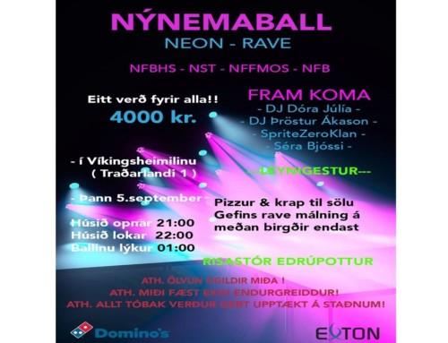 Nýnemaball